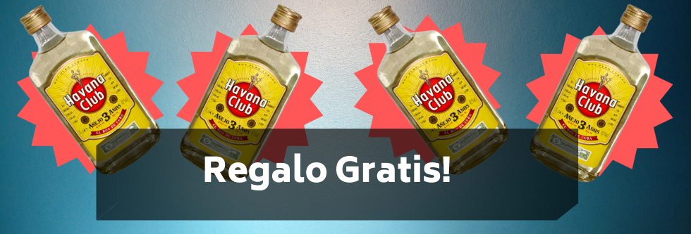 Regalo Gratis Havana Club