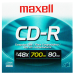 CDR-80 Slim 5mm 48X 80Min Disco Virgen Maxell